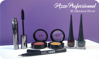 Maquillage AZZO Collection Couleurs Hiver 2017-2018