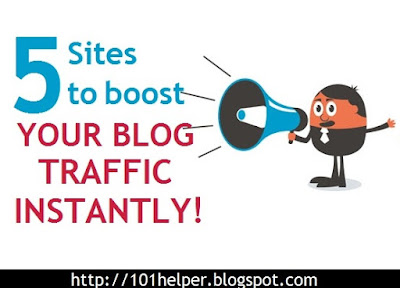 boost blogger blog traffic instantly