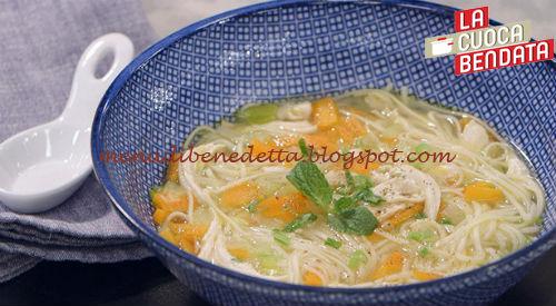 La Cuoca Bendata - Zuppa di noodles ricetta Parodi