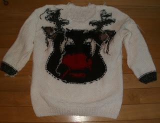 sweter na gwiazdkę