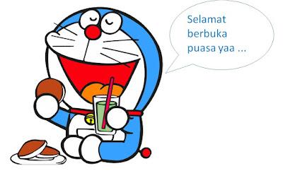 Gambar Doraemon Selamat Berbuka Puasa Ramadhan