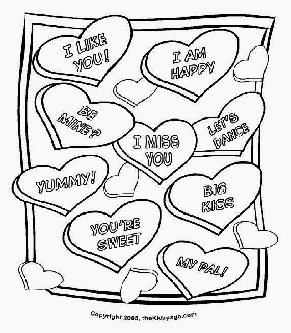 Valentine Heart Coloring Sheet Christian Coloring Pages