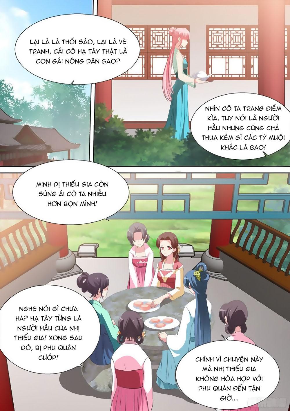 Hệ Thống Chế Tạo Nữ Thần chap 34 - Trang 8