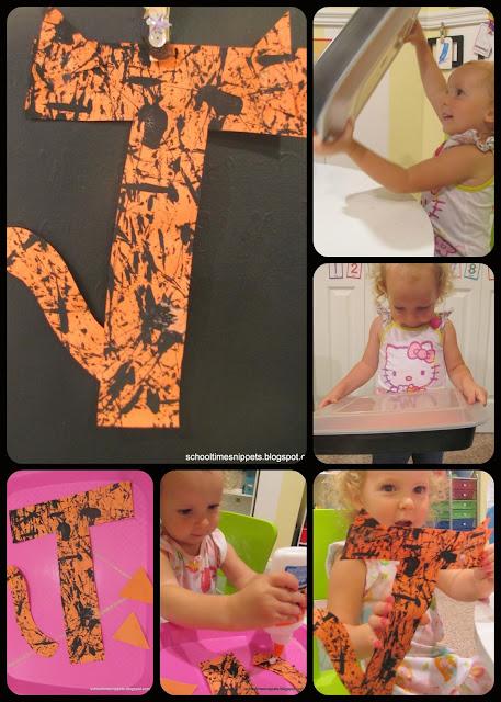 Letter T Toddler Craft