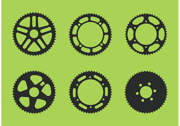 Bike Sprocket Free Vector