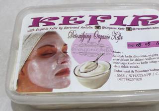 Cara Penyimpanan Masker Kefir Dengan atau Tanpa Freezer