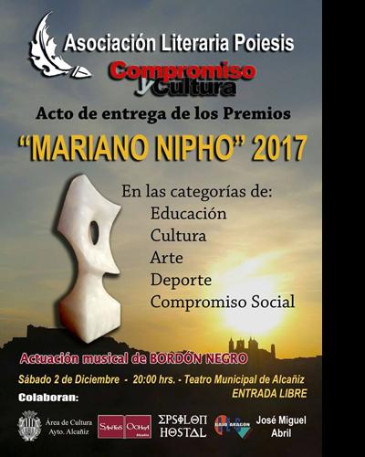 Entrega de los Premios Mariano Nipho 2017