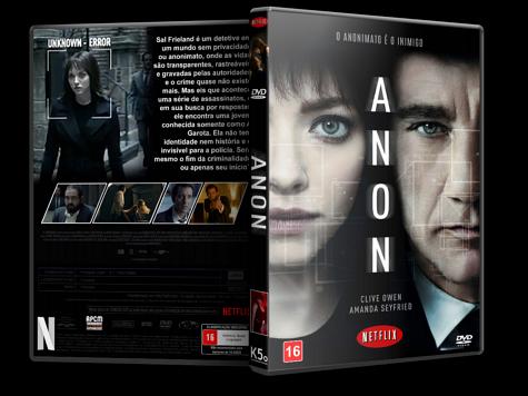 Capa DVD Anon