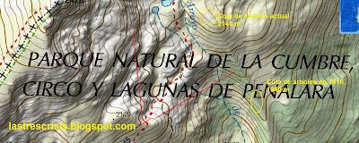 Mapa glaciar de Pepe Hernando