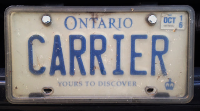 personalized vanity Ontario licence plate