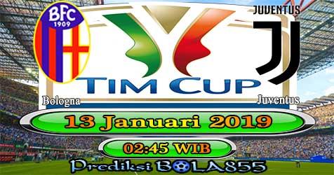 Prediksi Bola855 Bologna vs Juventus 13 Januari 2019