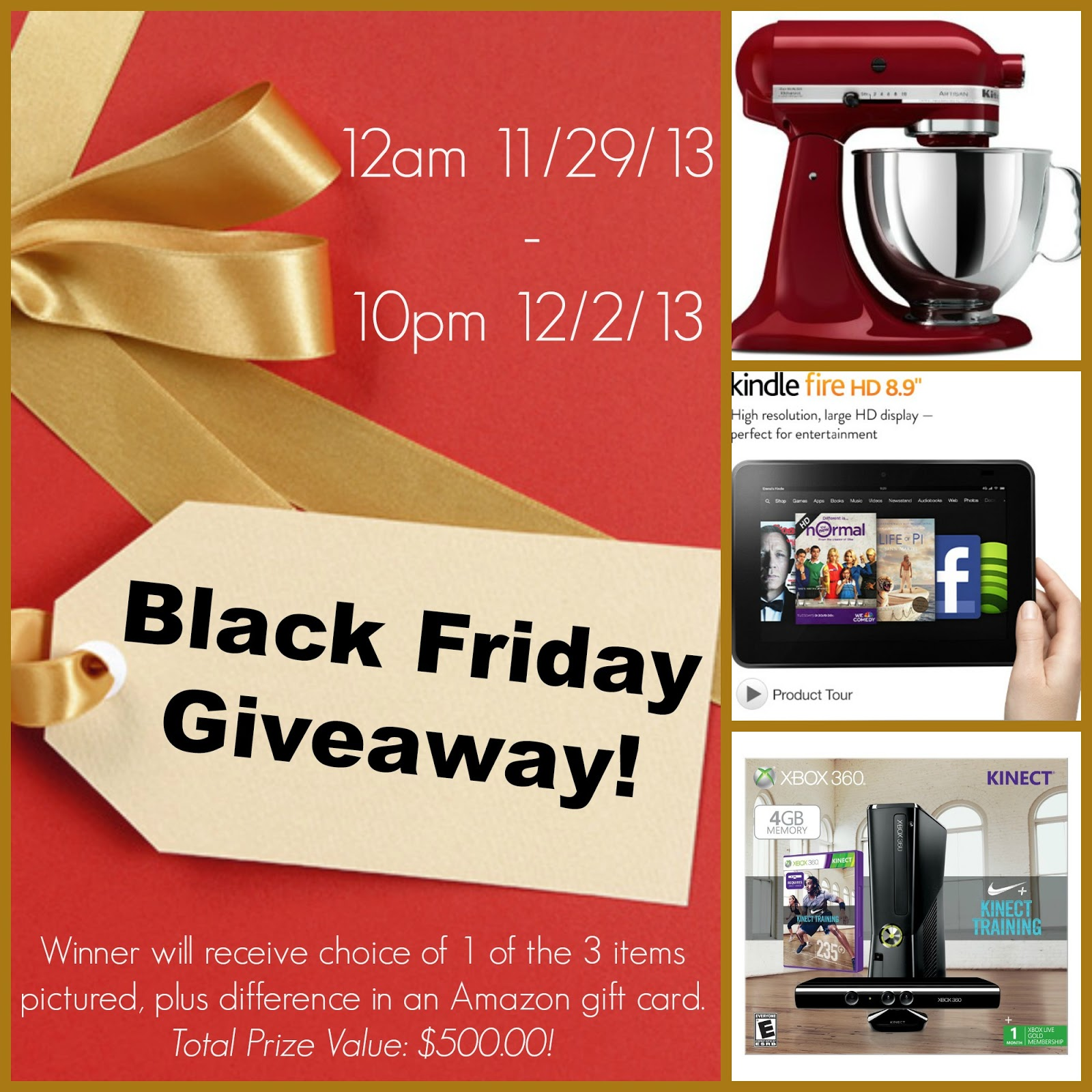 Kitchenaid Black Friday 2016 Amazon: $500 Black Friday Giveaway