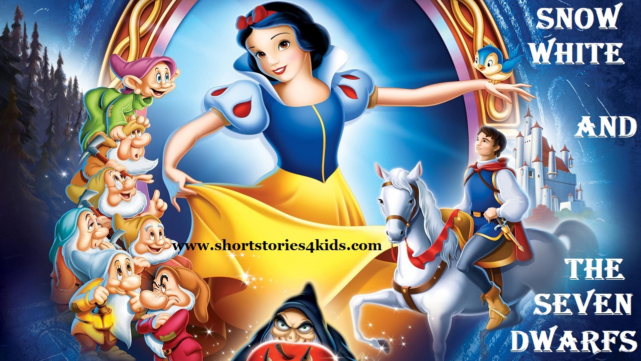 Snow White and The Seven Dwarfs - Short Stories for Kids - Short