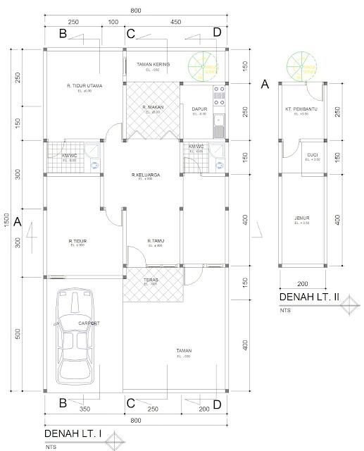 Contoh RAB Rumah Dua Lantai