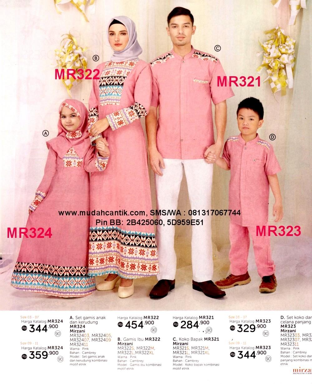 Baju Muslim Pasangan Ibu Dan Anak Perempuan Baju Muslim