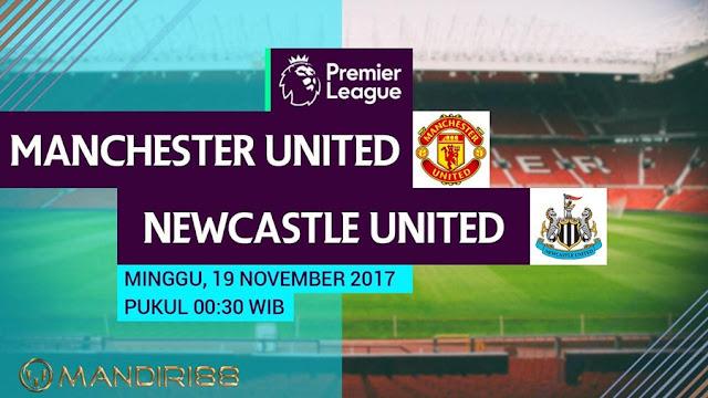 Premier League melawan Newcastle United di Stadion Old Trafford Berita Terhangat Prediksi Bola : Manchester United Vs Newcastle United , Minggu 19 November 2017 Pukul 00.30 WIB @ MNCTV