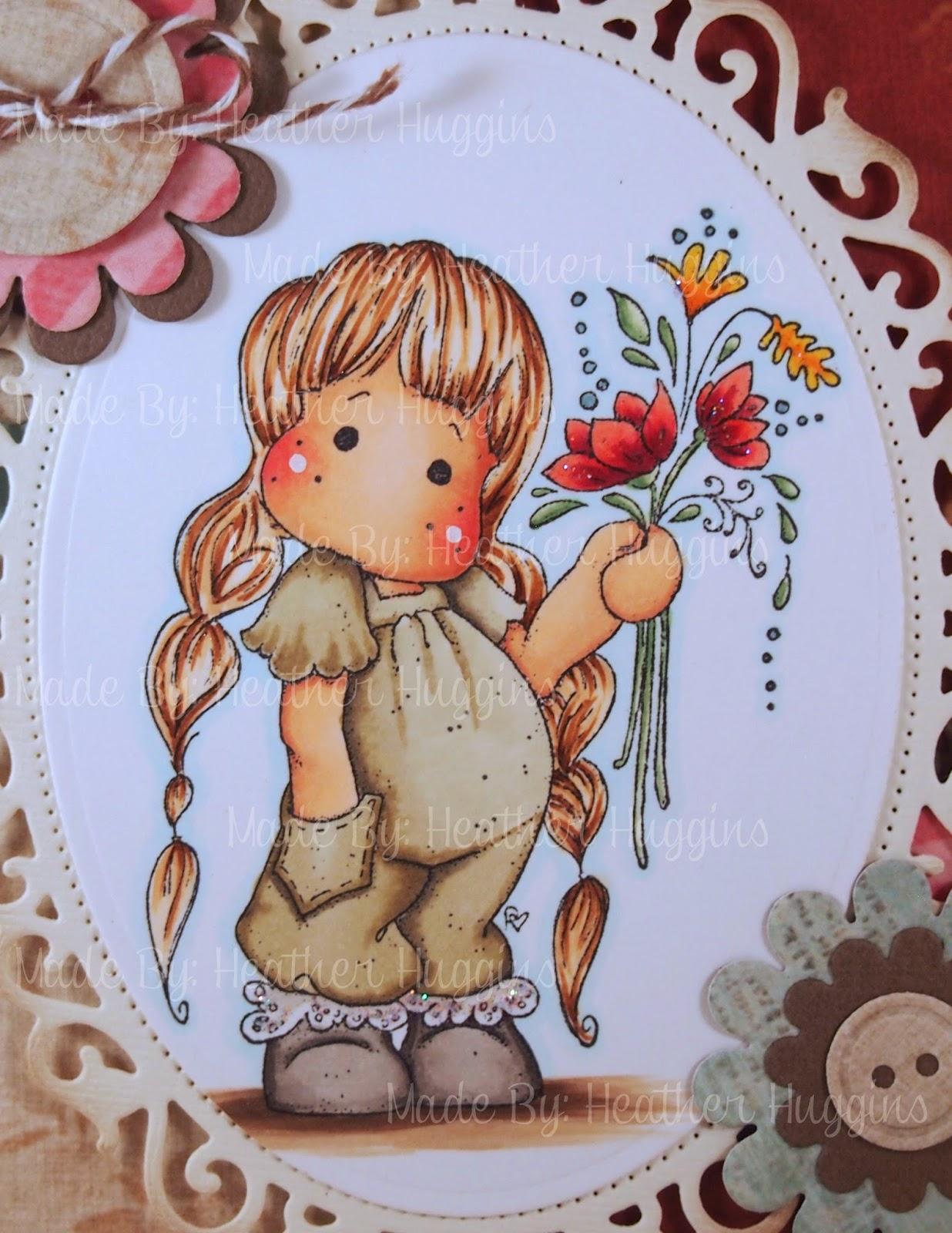 Heather's Hobbie Haven - Tilda with Little Pockets Card Kit