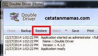 Cara Merestore Driver Komputer