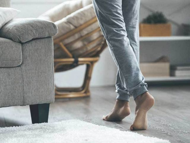 Why you should never wear shoes indoors