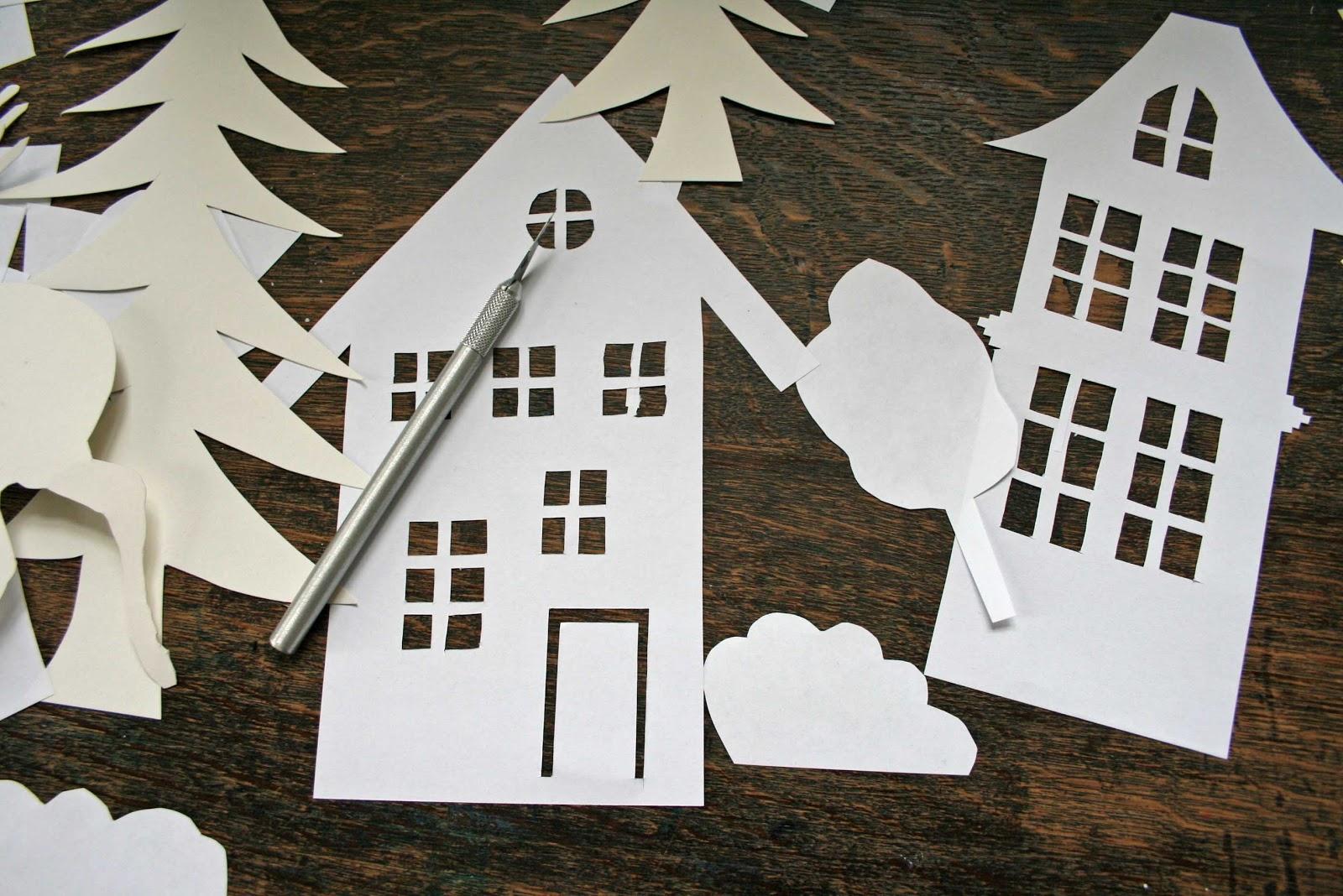 Gallerphot: Fensterdeko Weihnachten Selber Basteln