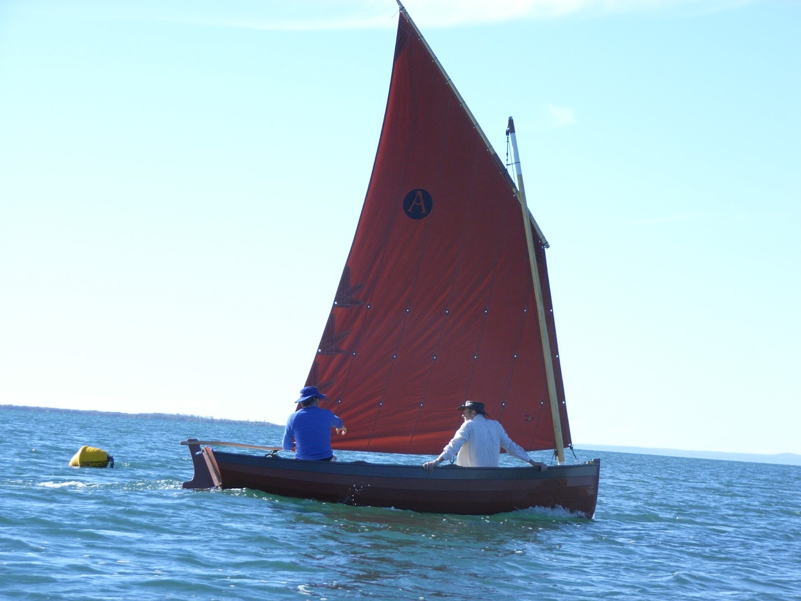 Ross Lillistone Wooden Boats: Balance Lug - Rigging Details