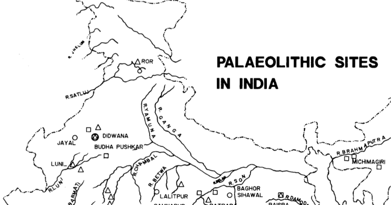 History For IAS: Paleolithic and Mesolithic Age in India