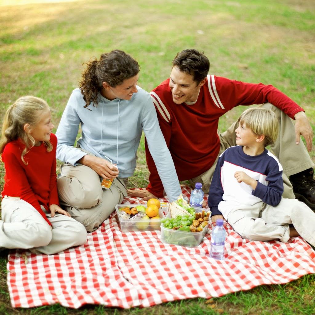 disfrutar de la familia