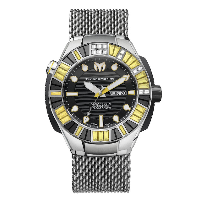 Technomarine BlackReef Ti Ultimate front