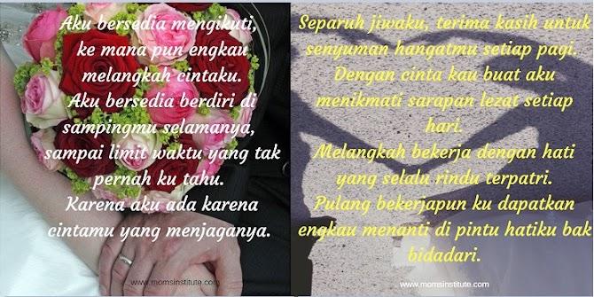 Kata-Kata Romantis Untuk Suami dan Istri