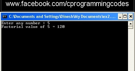 Program To Calculate Factorial In Php