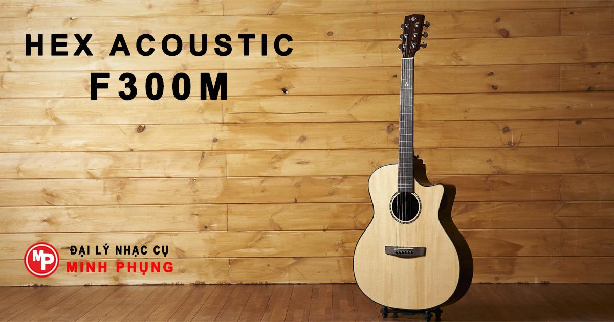 Đàn Guitar Hex Acoustic F300M - Chính Hãng, Giá Rẻ Tại TPHCM