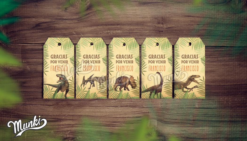 Munki Diseños Imprimibles: Kit Imprimible Dinosaurios