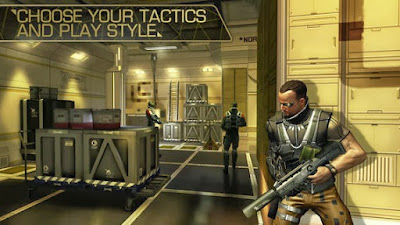 Deus Ex: The Fall v0.0.41 APK For Android [Terbaru]