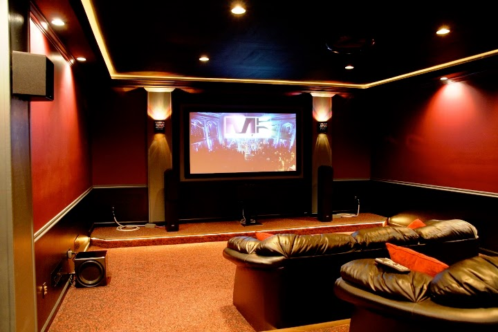 Home theater room design budget Home theater design ideas on a budget