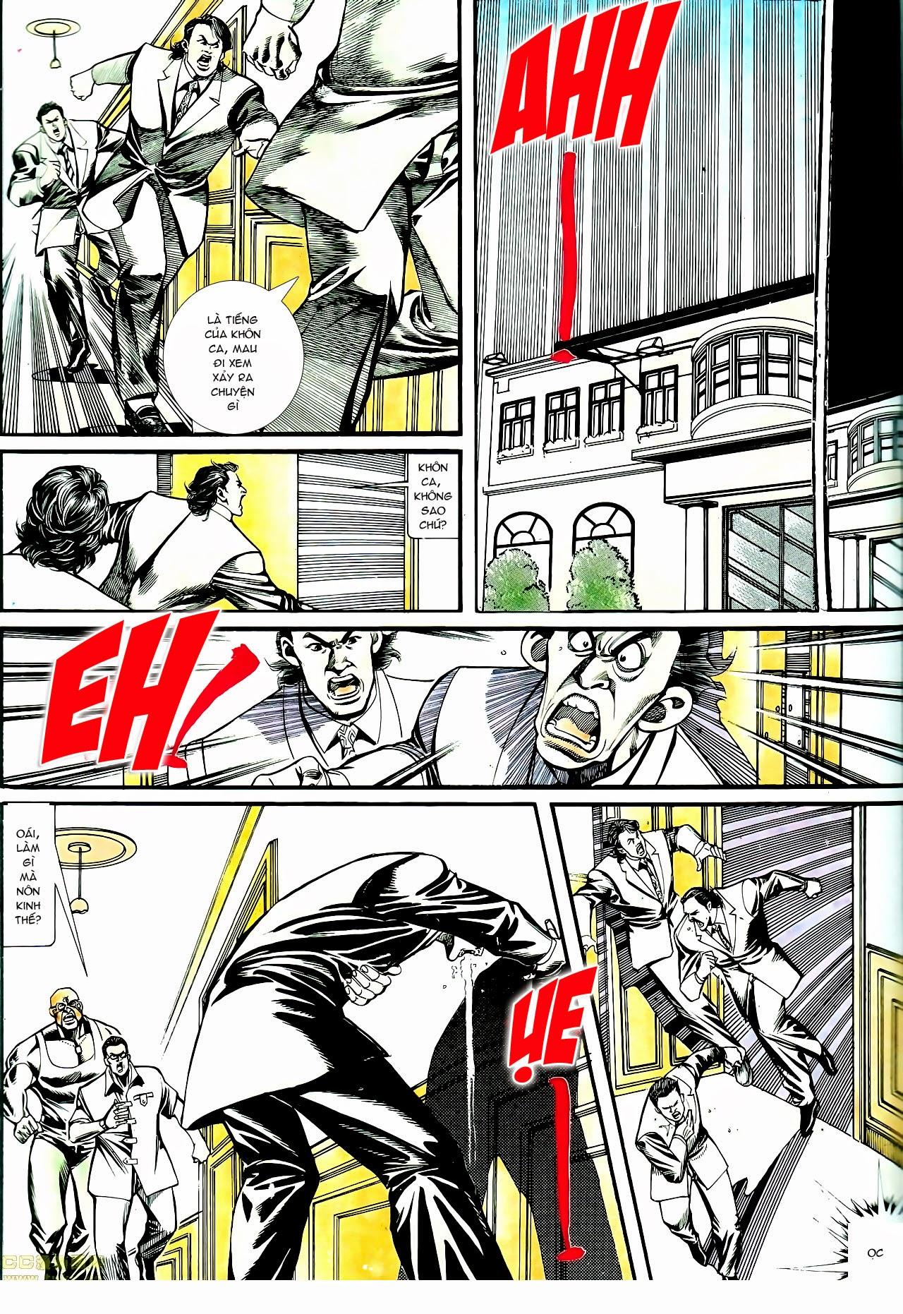 Người Trong Giang Hồ chapter 135: cạm bẫy rình rập trang 1