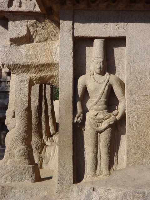 Mahabalipuram Monolithic Stone Chariots - Narasimhavarman Mamalla I
