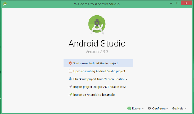 android application in android studio