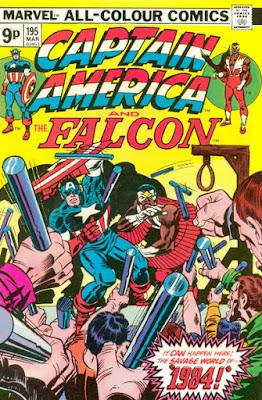 Captain America and the Falcon #195