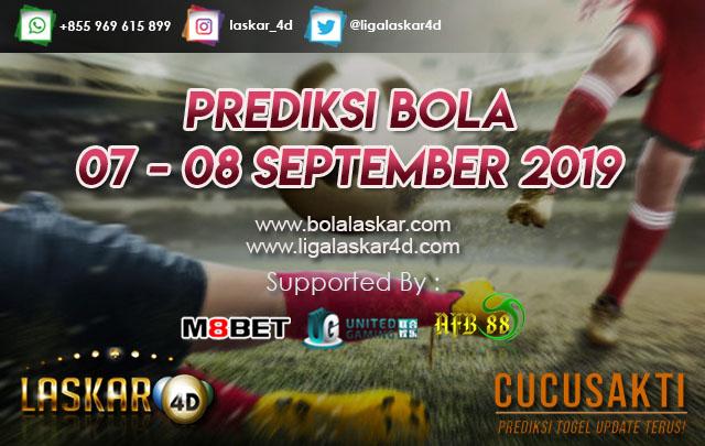 PREDIKSI BOLA TANGGAL 07 – 08 September  2019