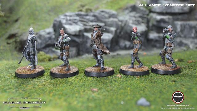 Icarus miniatures alliance starter set