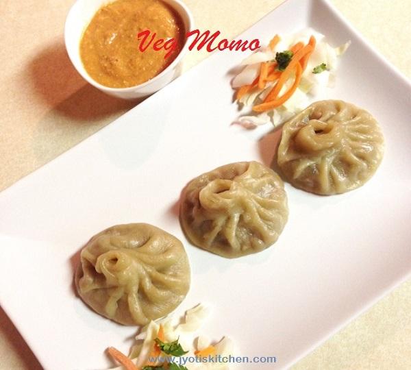 Veg Momo Recipe with step by step photo