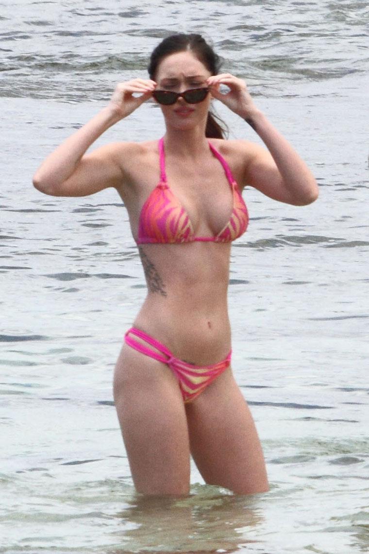Have megan fox pink bikini senseless