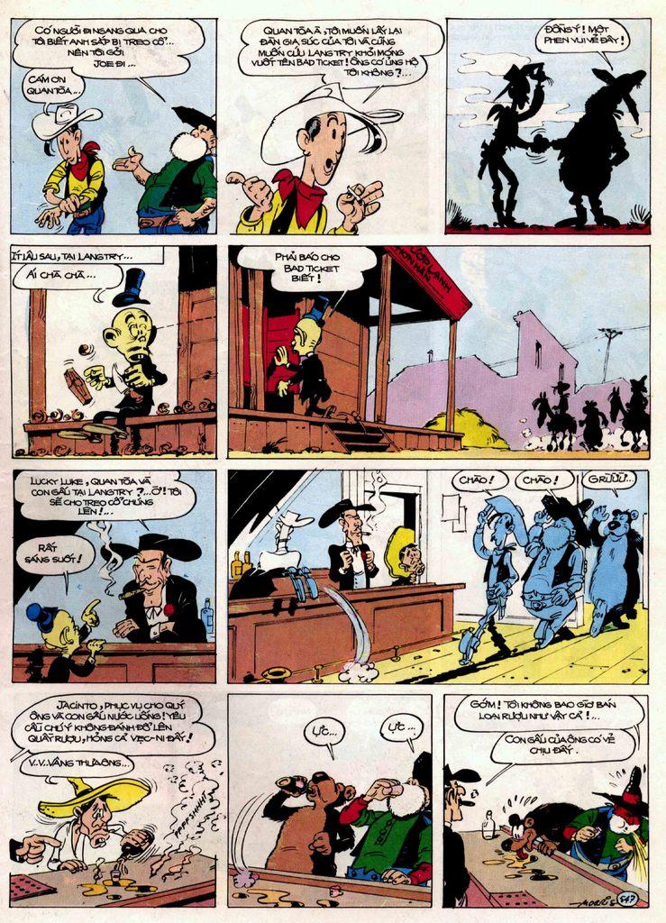 Lucky Luke tập 21 - sợi dây biết hát trang 26