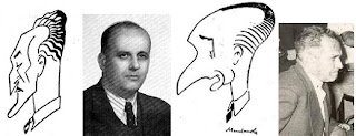 Los ajedrecistas Ramón Arbó, Joaquim Aulina, Joaquim Gil e Isidre Capdevila