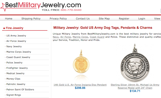 About Bestmilitaryjewelry.com