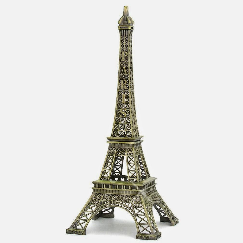 Bronze Paris Eiffel Tower Figurine