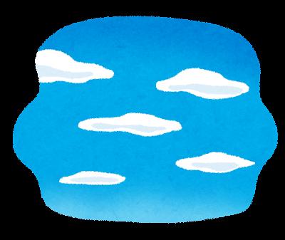青空のイラスト