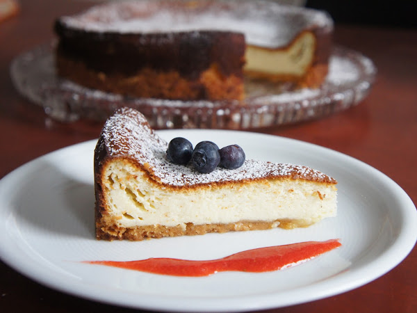 REZEPT: glutenfreier Ricotta-Käsekuchen