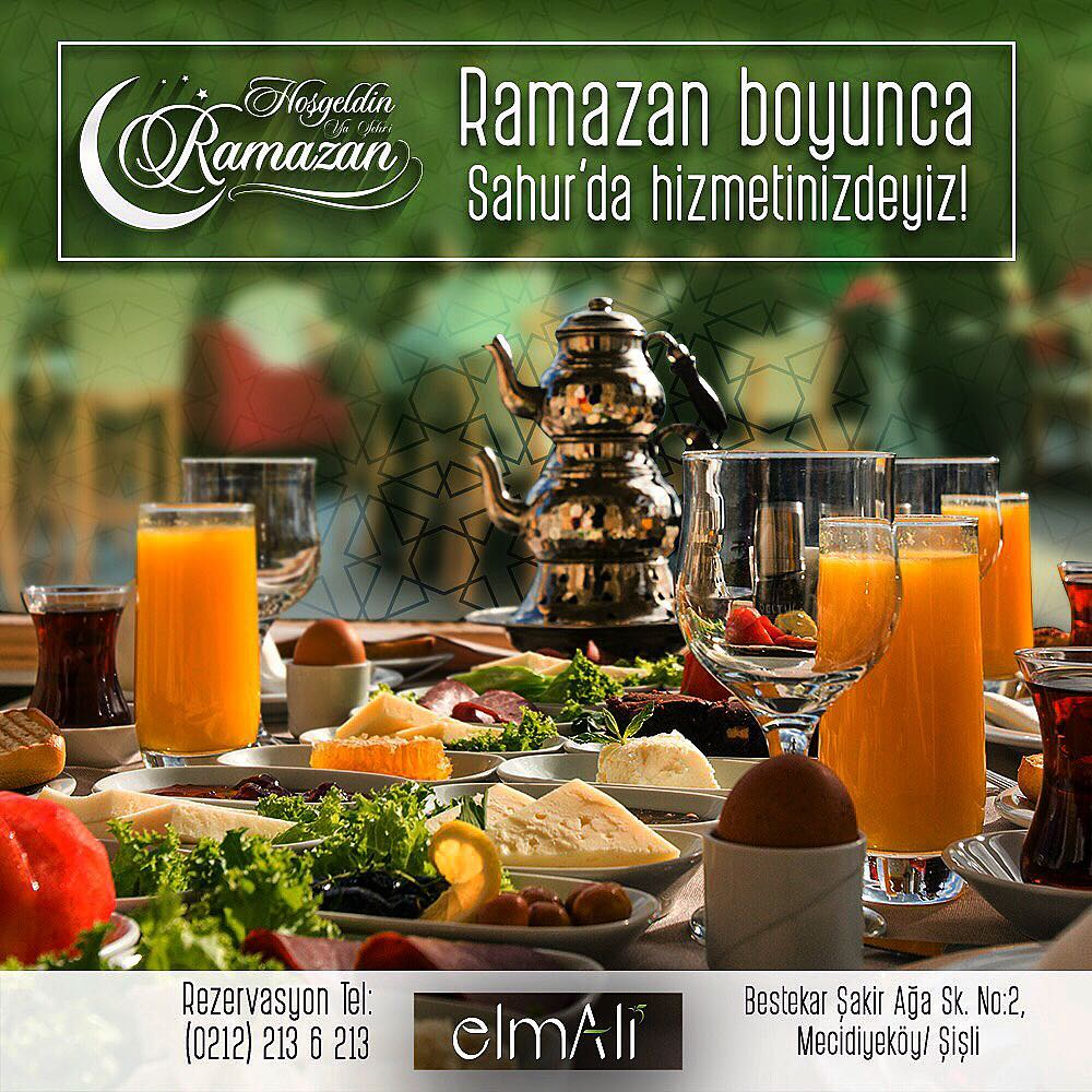 ElmAli Cafe Lounge Restaurant sisli