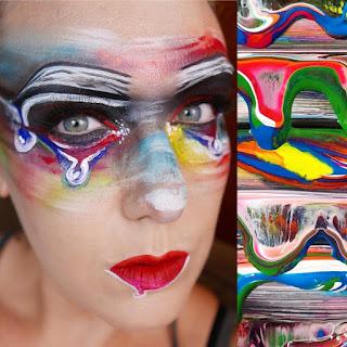 arte en el rostro, maquillaje